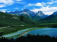 Gap Lake Alberta - USA Rail Tours and Journeys