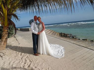Antony & Jeanette share their Barbados wedding story