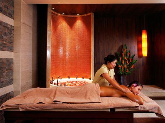 Cenvaree spa treatment at Centara Grand Beach Resort Phuket