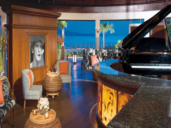 Cuban-themed piano bar at Secrets St James