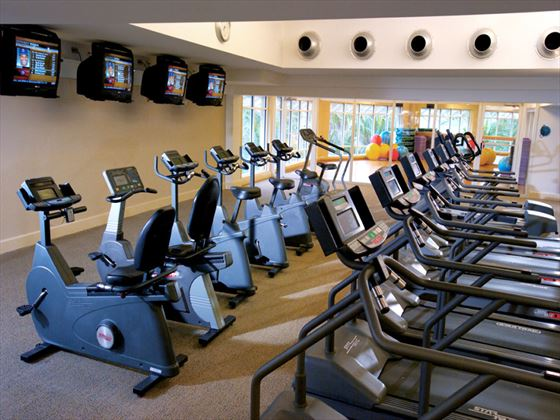 Fitness room at Grand Lucayan