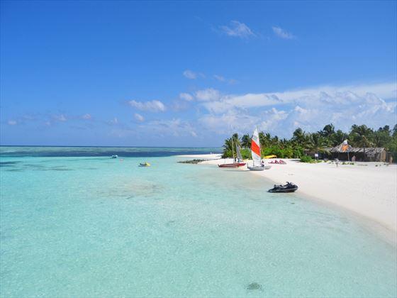 Fun Island beach