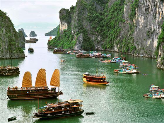 Hallong Bay in Vietnam