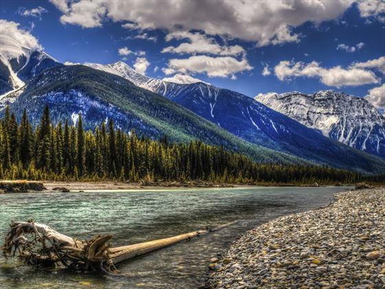 Kootenay River, Kootenay National Park, BC