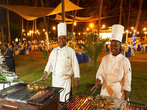 Lawn BBQ at Sarova Whitesands