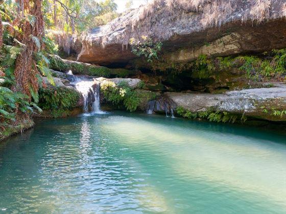 Natural pool at Isalo National Park