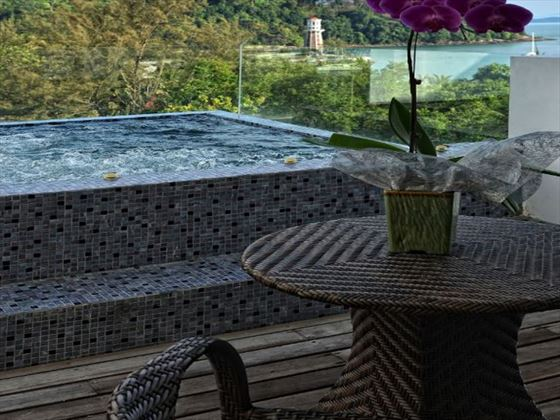 Outdoor Jacuzzi at The Danna Langkawi