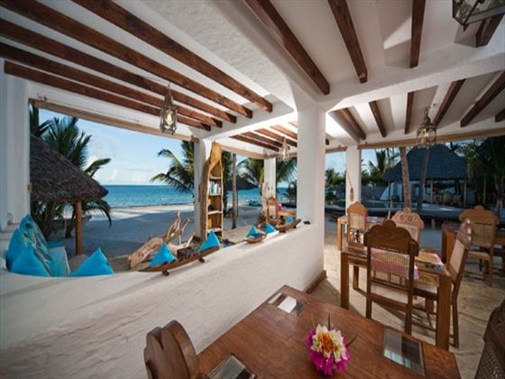 Tides restaurant at WaterLovers Beach Resort