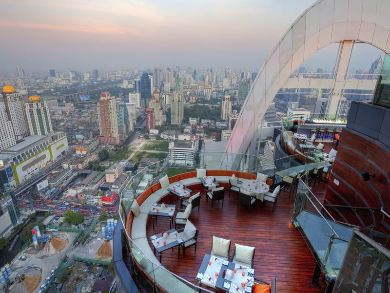 Image result for rooftop dining bangkok