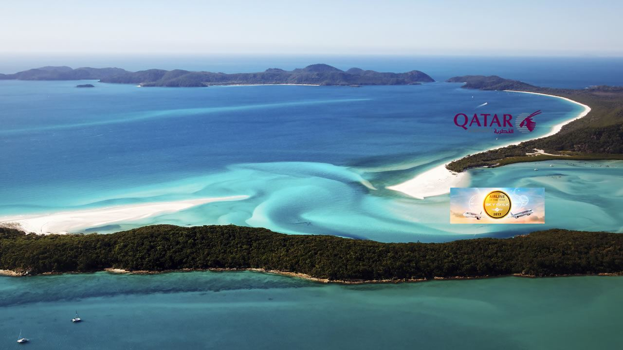 Whitehaven Beach - Qatar