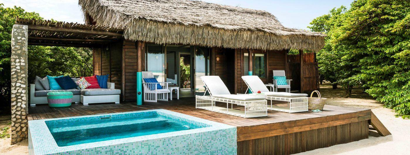 Anantara Medjumbe Island Resort & Spa villa exterior