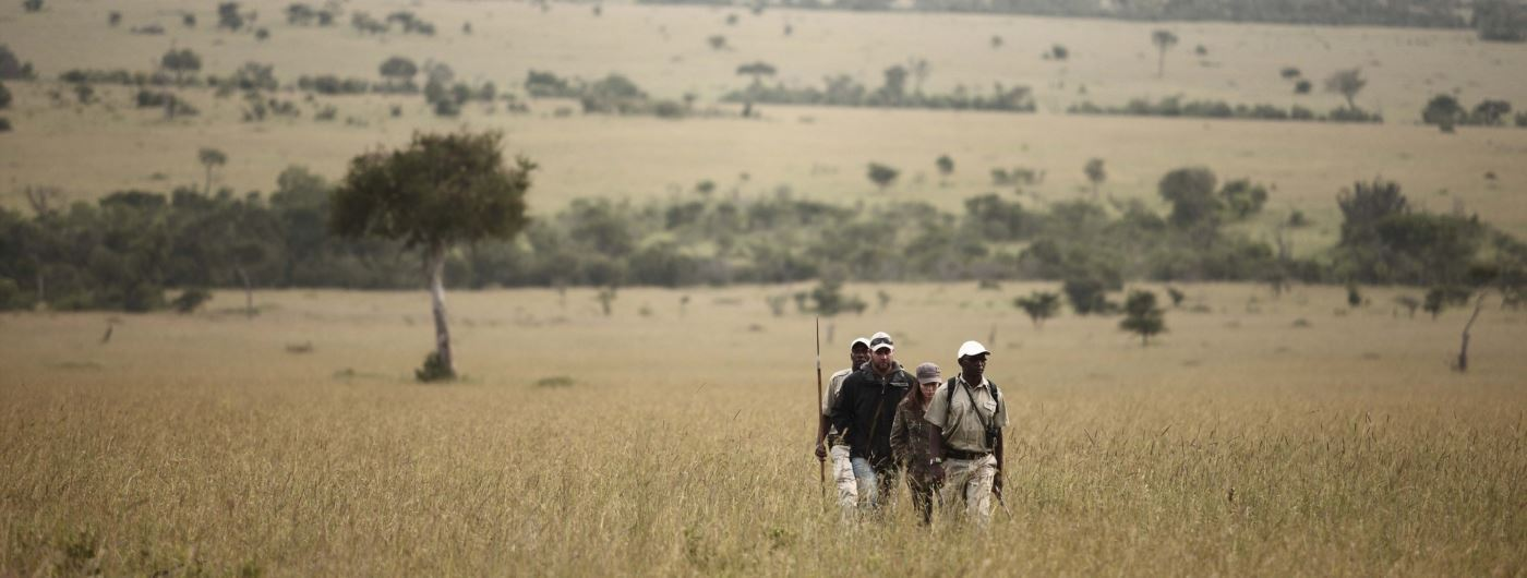 andBeyond Klein's Camp walking safaris