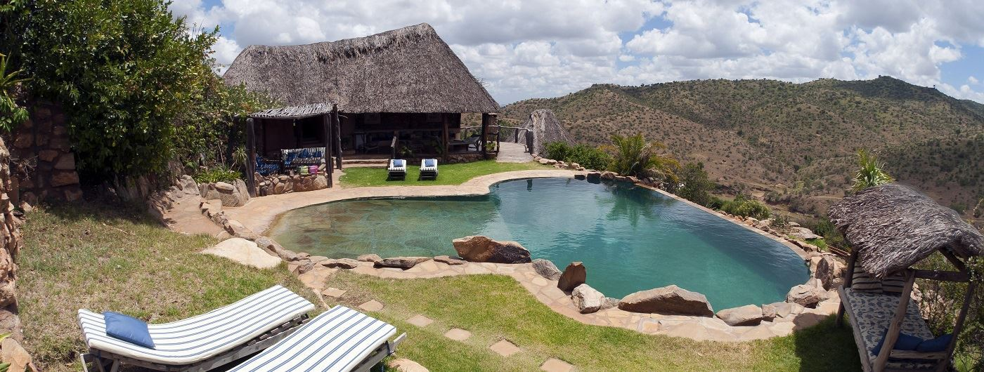 Borana Lodge main pool