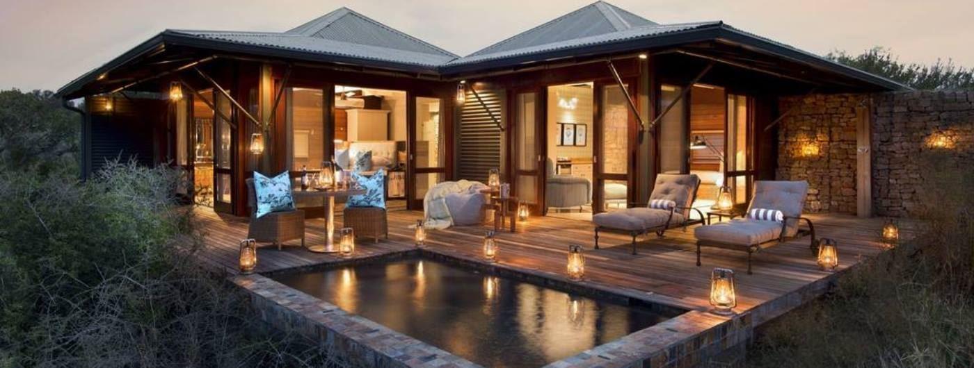 Ecca Lodge exterior suite view