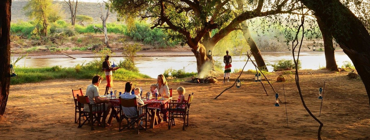 Elephant Watch Camp & Safaris bush dinners