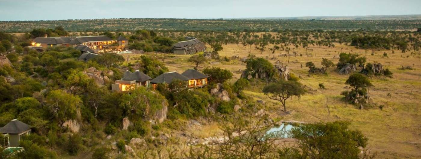 Four Seasons Safari Lodge aerial view