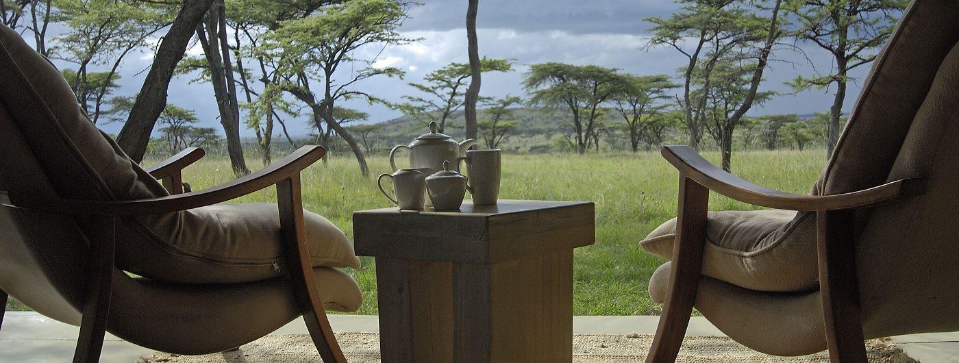 Kicheche Bush Camp private veranda
