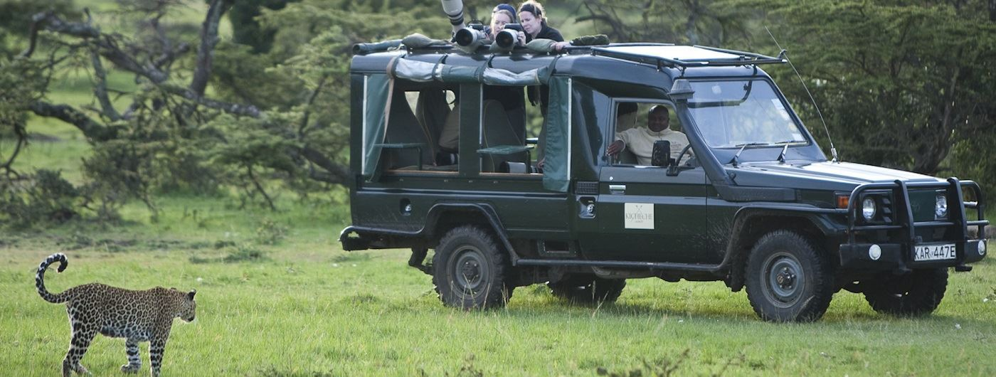 Kicheche Mara Camp game drive