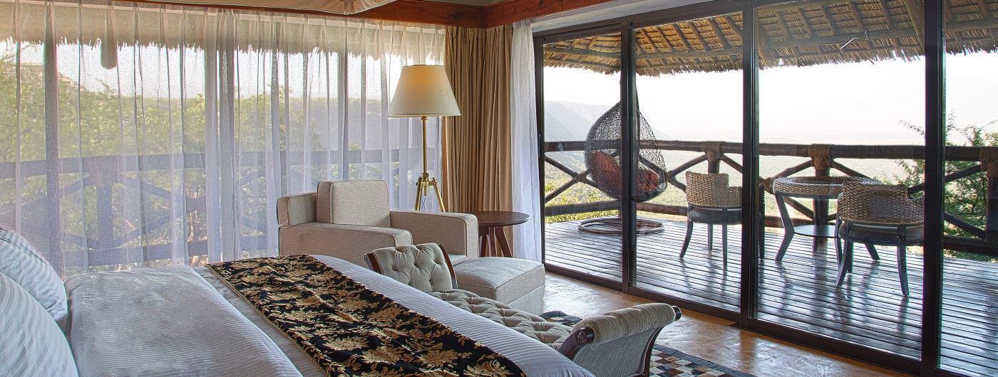 Lake Manyara Kilimamoja Lodge room interior