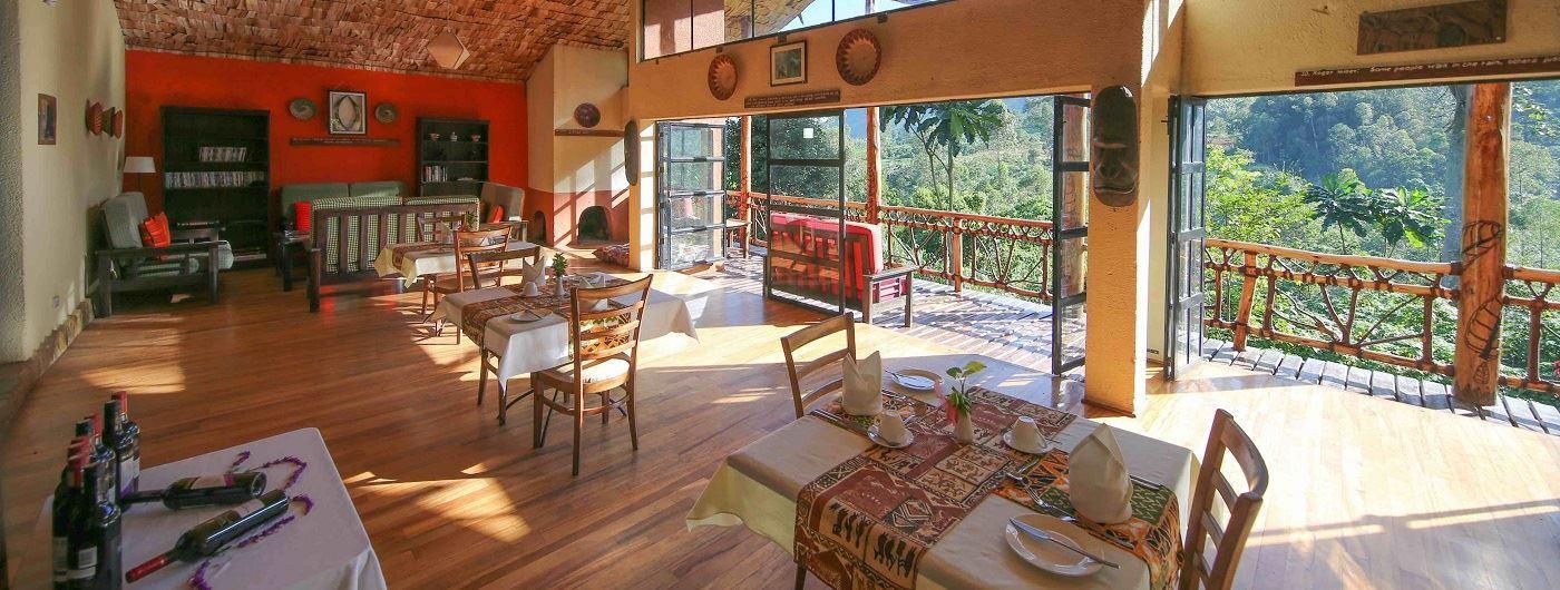 Mahogany Springs restaurant area