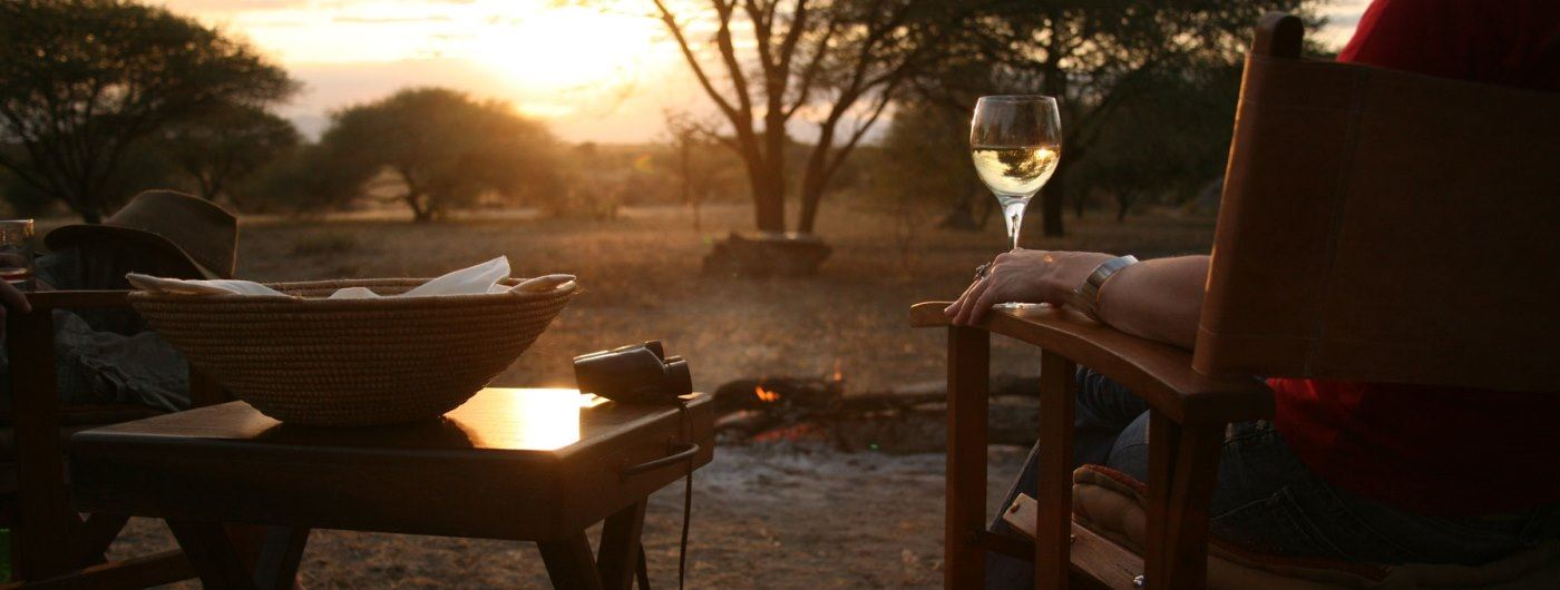 Manyara Ranch Conservancy sundowners