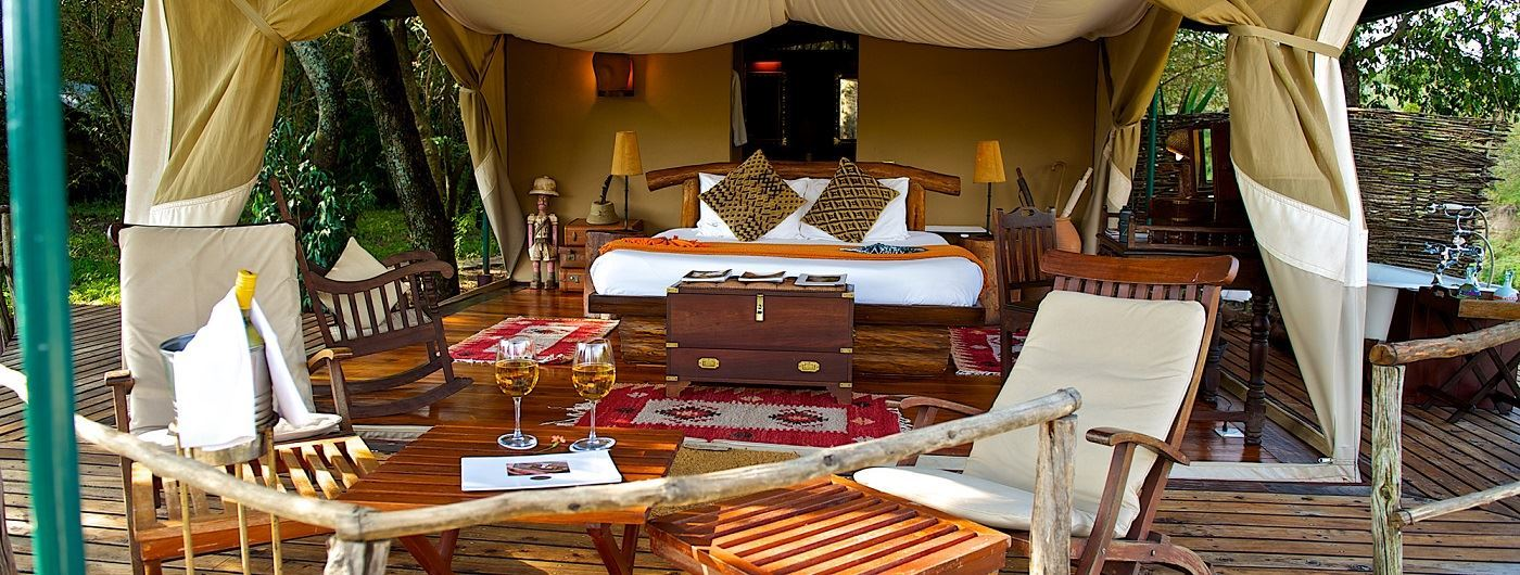 Mara Explorer Luxury Tented Camp luxury tent