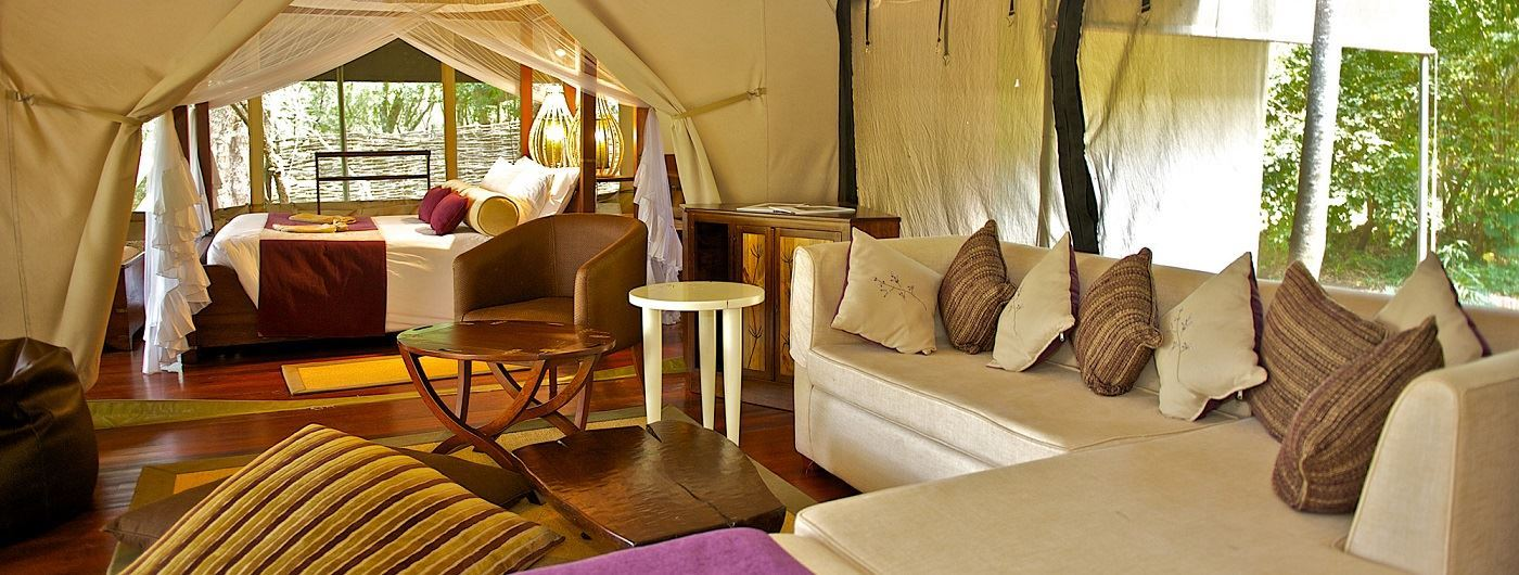 Mara Intrepids Camp tented suite