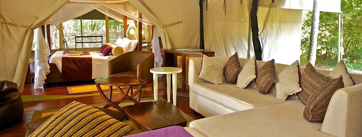 Mara Intrepids Camp tented suite