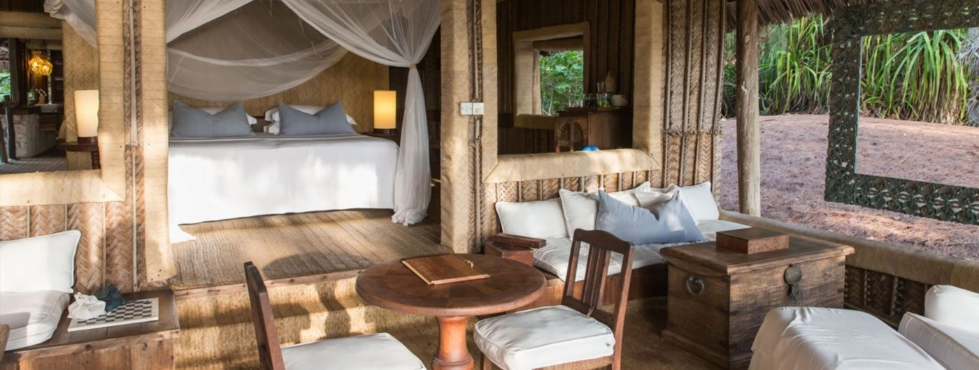 andBeyond Mnemba Island guest room