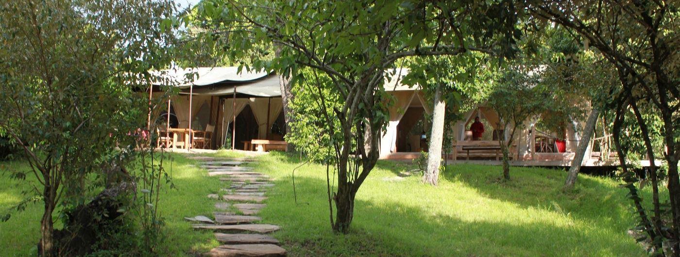 Naibor Camp exterior