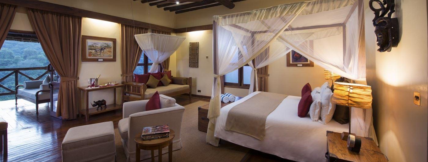 Neptune Ngorongoro Luxury Lodge room bedroom