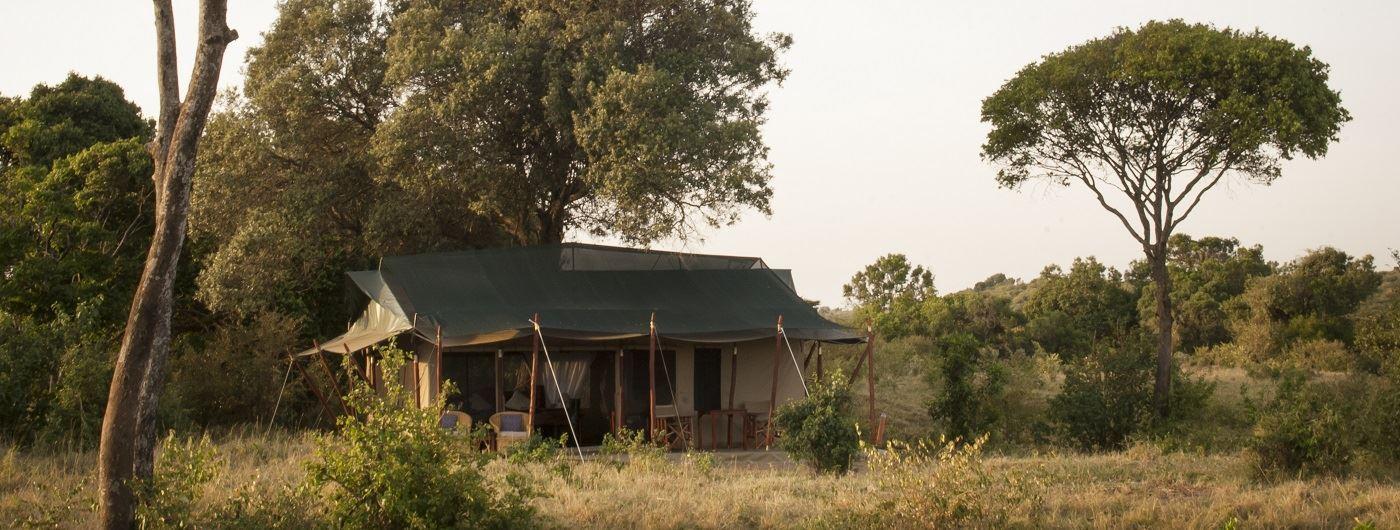 Offbeat Mara tent exterior