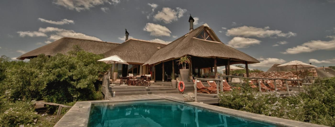 Pumba Water Lodge main pool