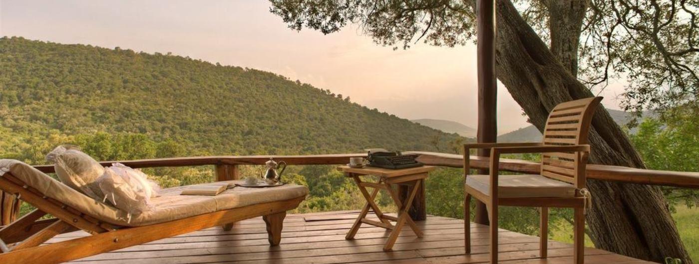 Saruni Mara private veranda