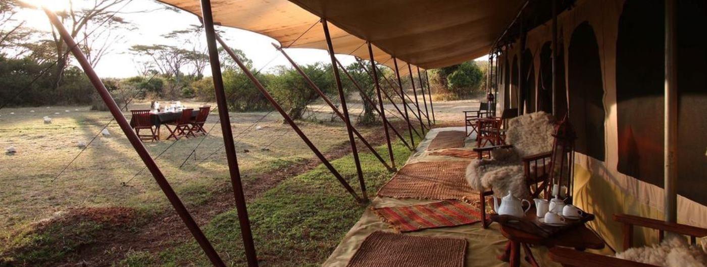 Saruni Wild main tent exterior
