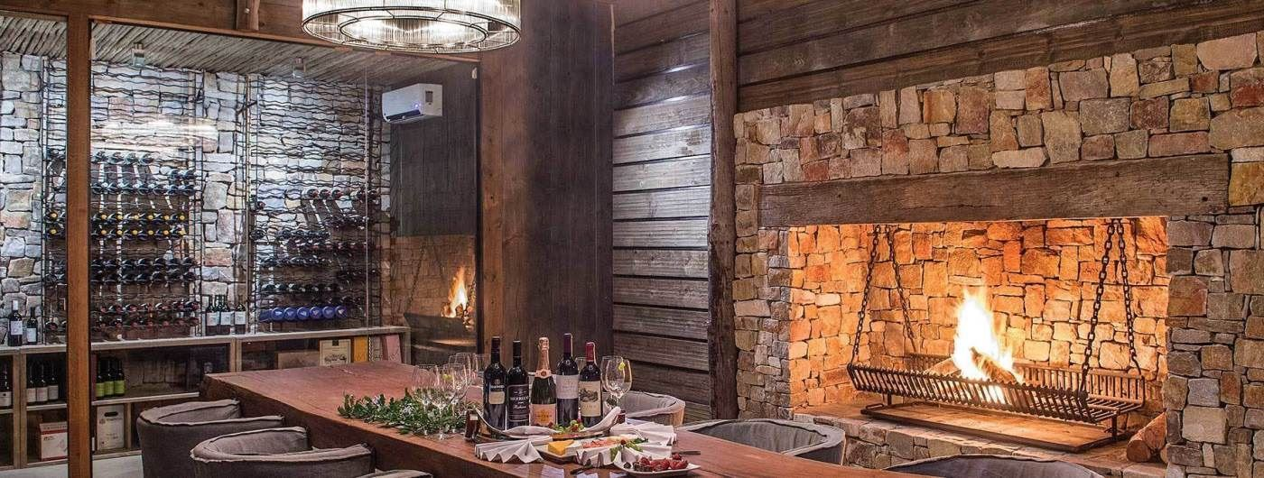 Settlers Drift Luxury Tented Lodge wine cellar