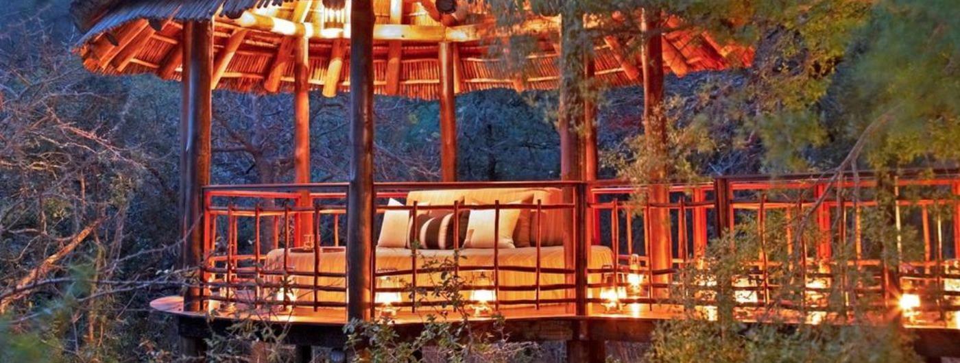 Thanda Tented Camp private sala