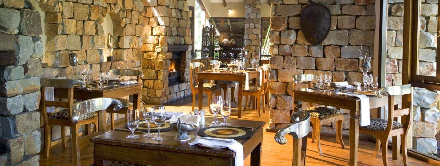 Tsala Treetop Lodge dining room