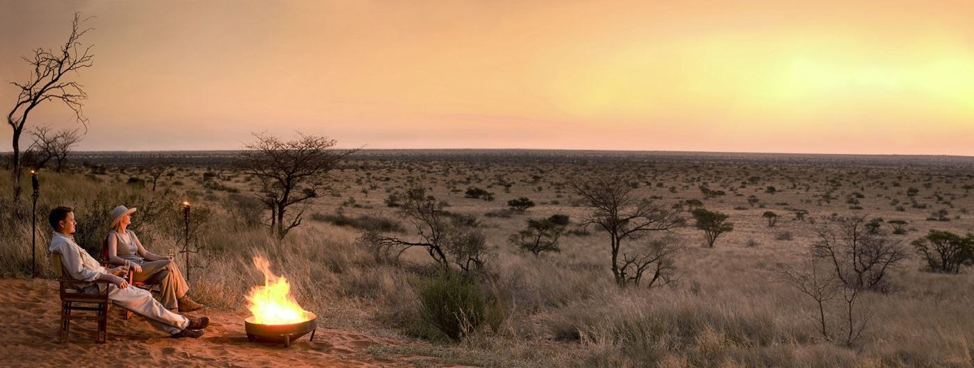 Tswalu Kalahari Private Game Reserve - The Motse bush drinks