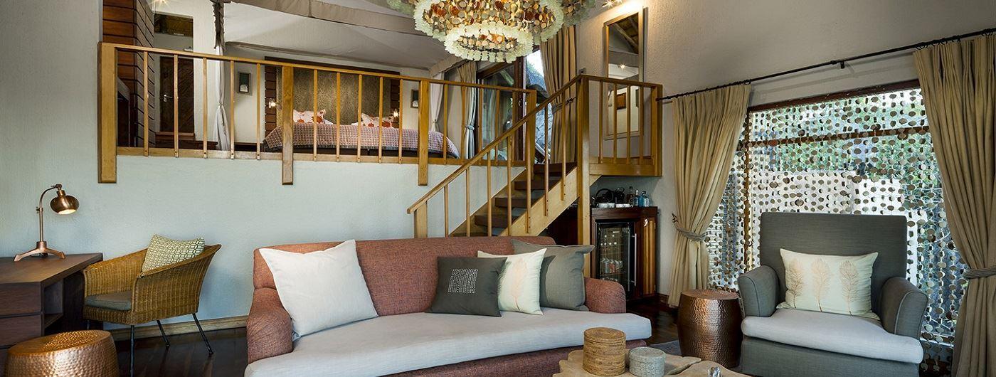 Ulusaba Rock Lodge - Master Suite living area