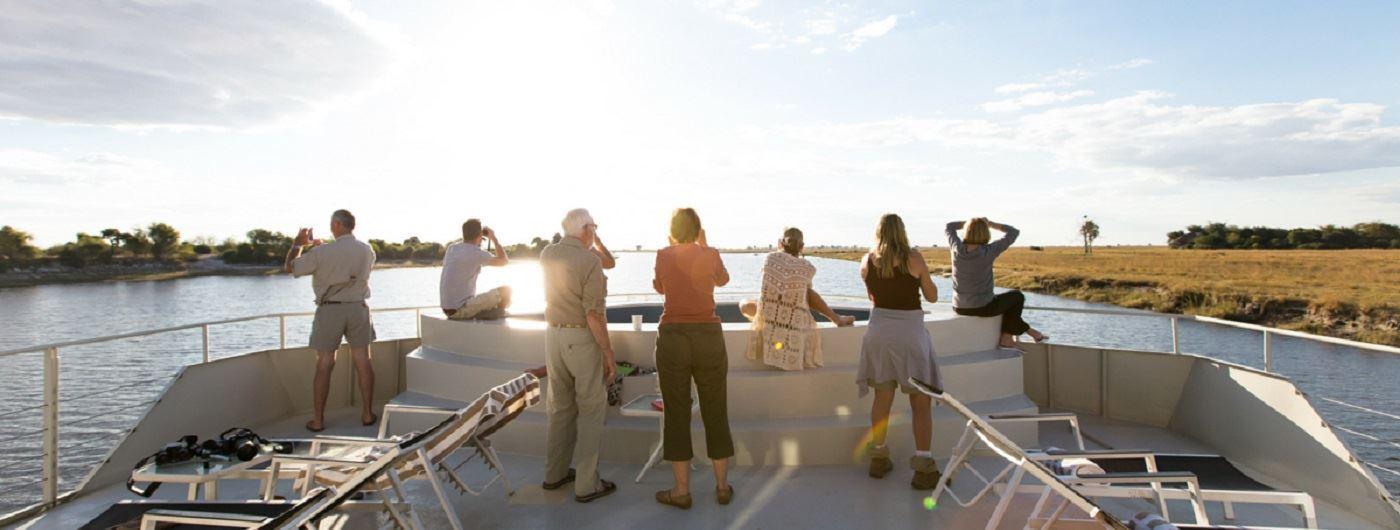 Zambezi Queen upper deck