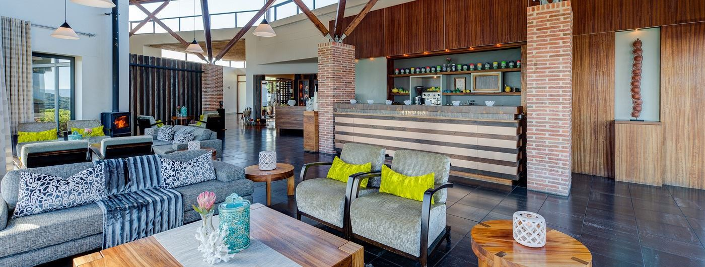 Grootbos Forest Lodge Champagne Lounge