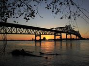 Mississippi River Bridge at Baton Rouge - Multi Centre Holidays in the USA