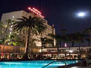 Hotel Exterior at Night - California Holidays