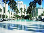 The pool at the Delano - USA Beach Holidays