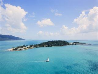 Aerial View of Daydream Island Resort & Spa
