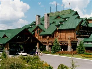 Entrance to the Wilderness Lodge