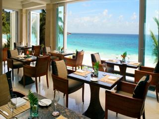 Au Jardin d'Epices restaurant at Banyan Tree - Seychelles Holidays
