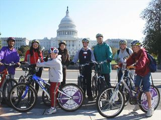 Take a bike tour of Washington DC