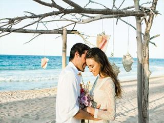 Rustic wedding at Excellence Punta Cana